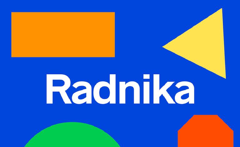 Radnika - fuente gratuita y geometrica - para uso libre - diseño - branding