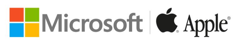 Marcas corporativas - colores - Microsoft - Apple - significado - diseño - logos - logotipo