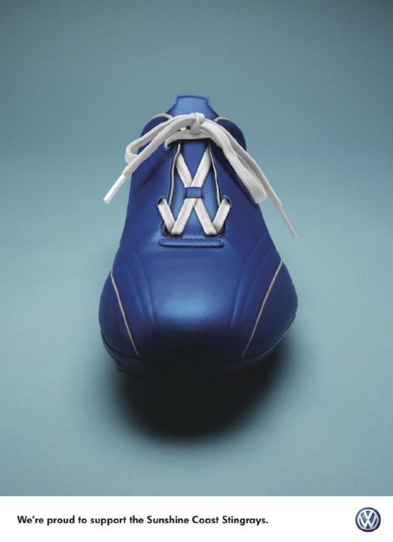 Volkswagen - Anuncios publicitarios creativos hechos con tipografias