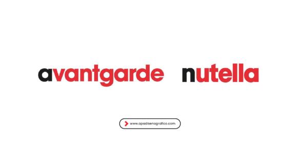 Las tipografias mas populares de las grandes marcas famosas