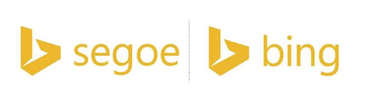 logotipo de la marca bing