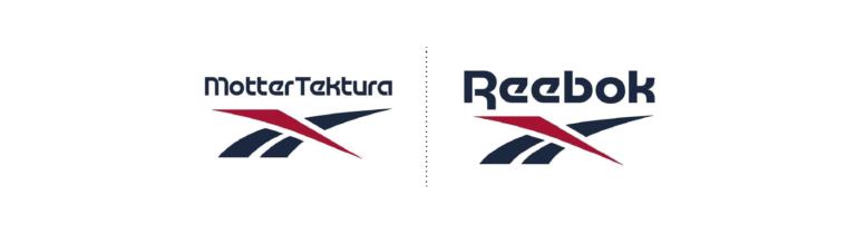 Tipografia de la marca reebok