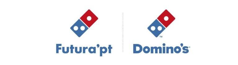 La tipografia de la marca dominos