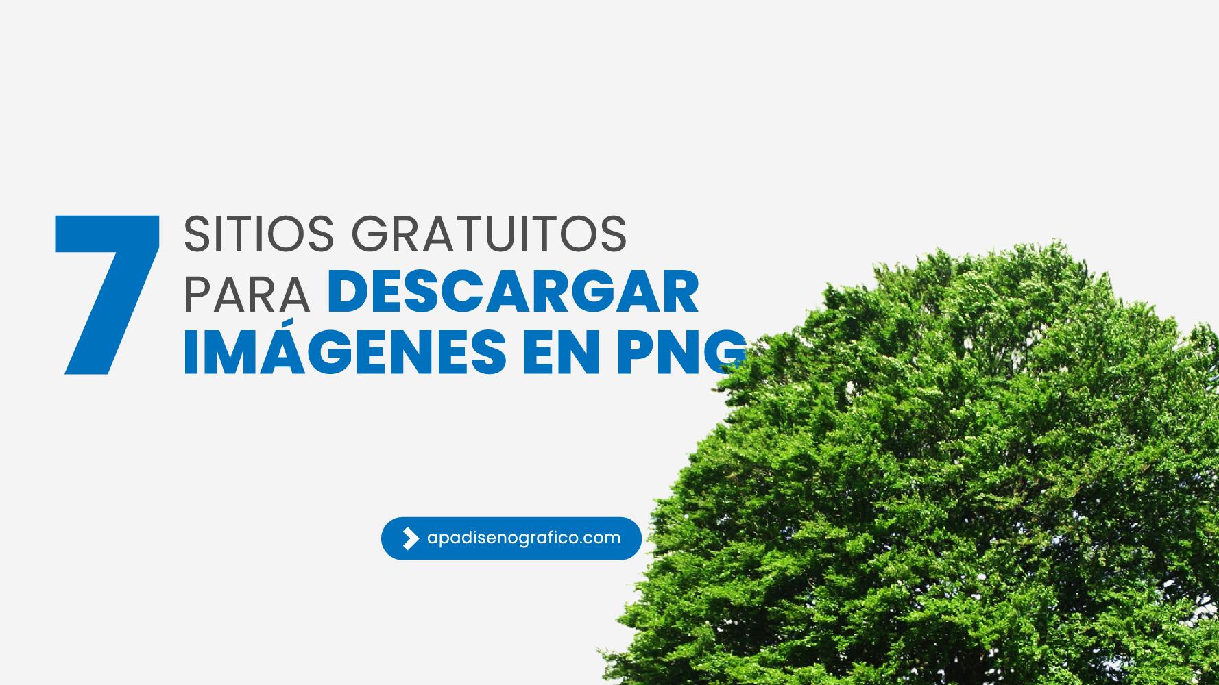 7 Sitios gratuitos para descargar imágenes en PNG