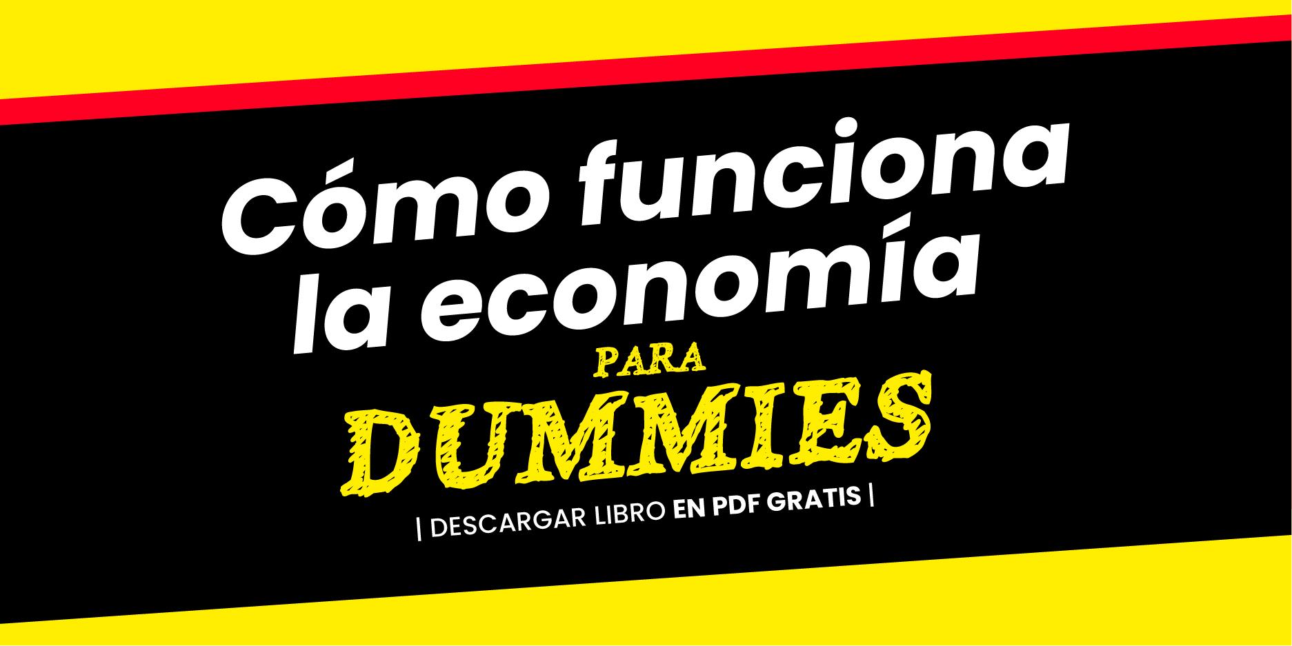 Cómo funciona la economía para Dummies [PDF]