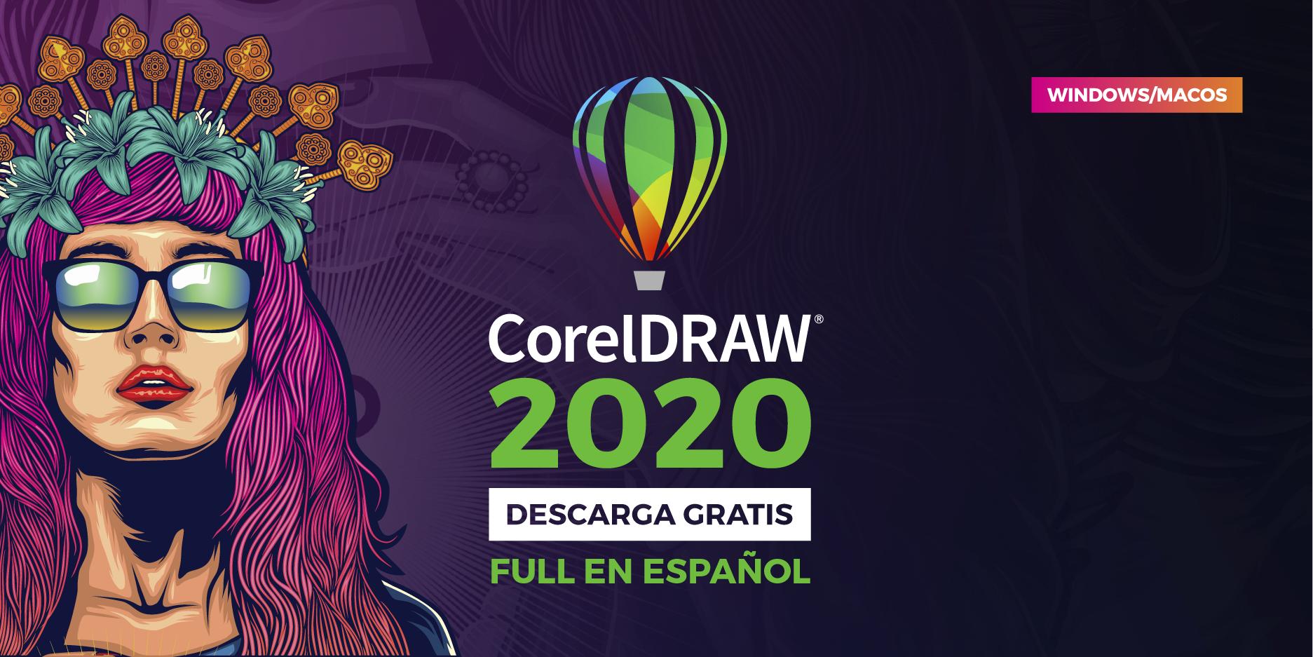 corel draw full crack 2020 para descargar en español