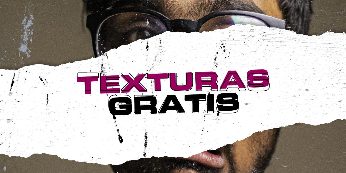 18 tipos de texturas gratuitas para diseñar carteles en photoshop y illustrator