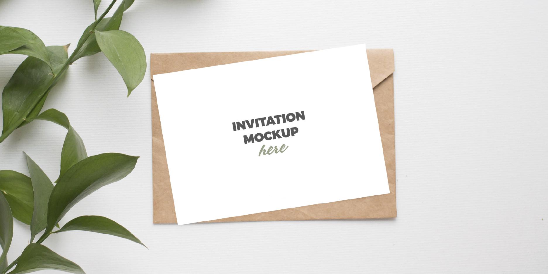 descarga maqueta para tarjeta de invitacion para bodas y cumpleaños gratis en psd