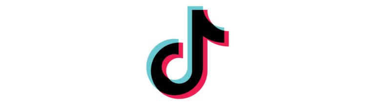 Colores corporativos del logotipo de tik tok