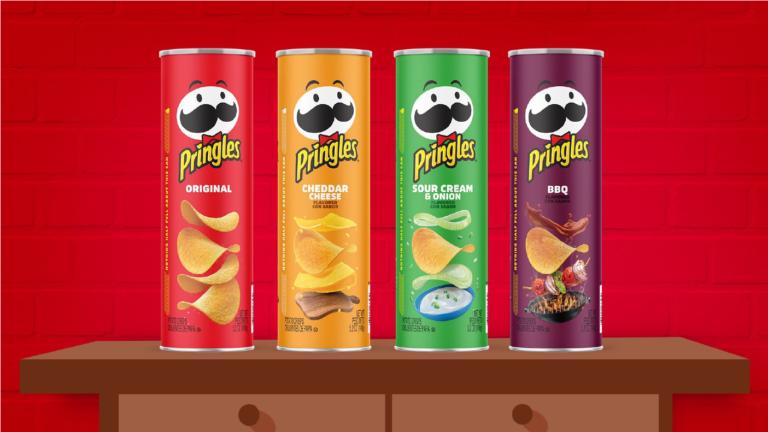 Nuevo diseño de empaque para Pringles