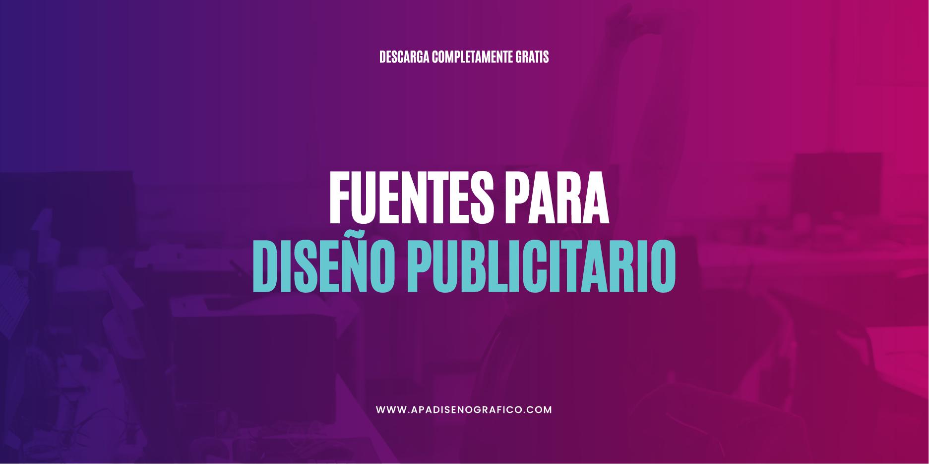 fuentes gratuitas de uso libre para diseñar logos - carteles - marcas y anuncios publicitarios