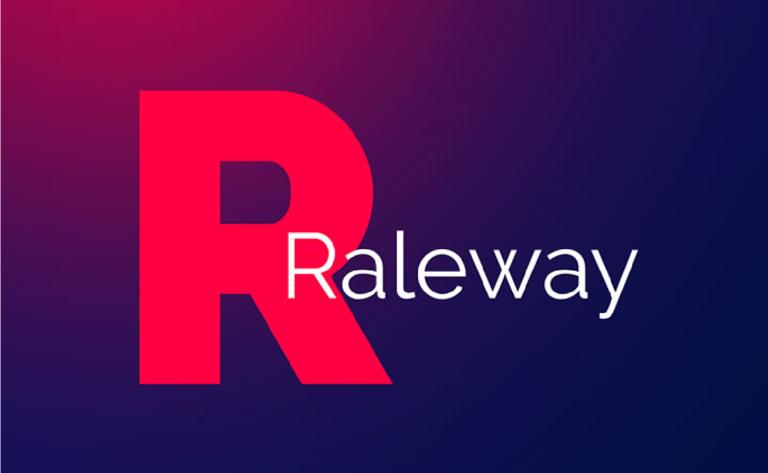 Descargar familia tipografica Raleway gratis