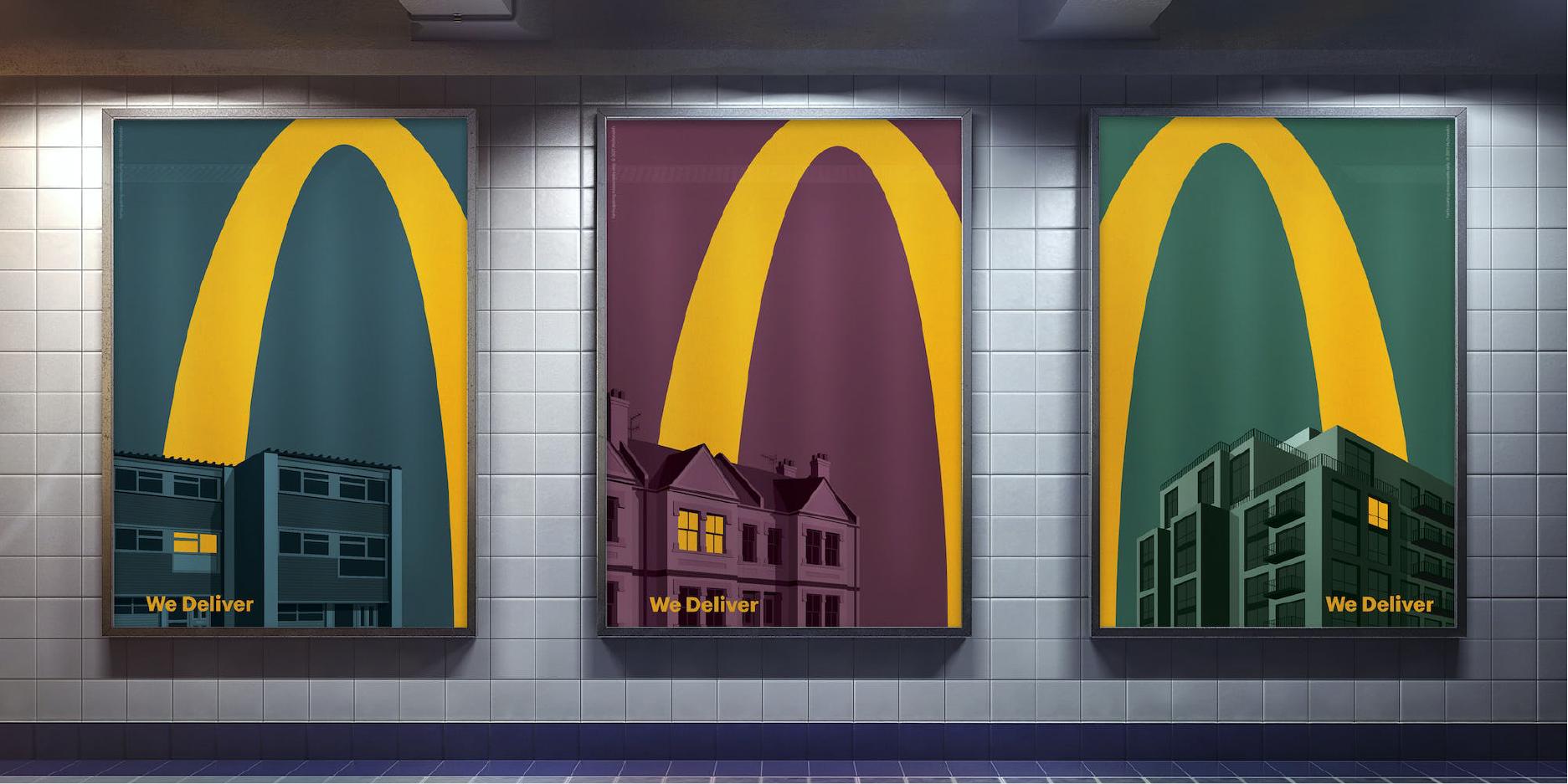 Mcdelivery Leo Burnett - Mcdonald publicidad de entrega a domicilio