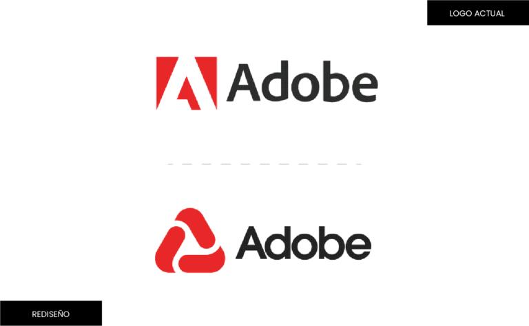 rediseño de logotipo de adobe - concepto de logo