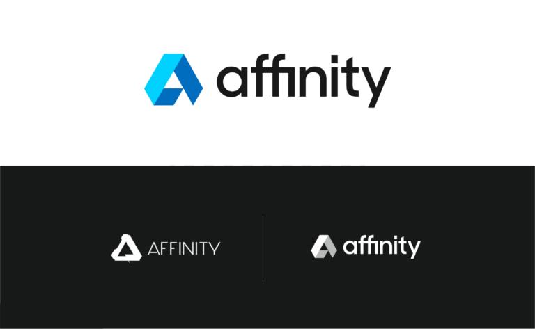 rediseño de logotipo affinity