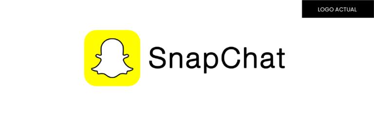 concepto de logo y rediseño de la marca snapchat
