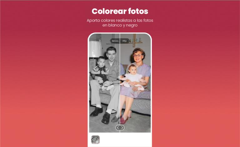 convierte tus imagenes de blanco y negro a color con remini app
