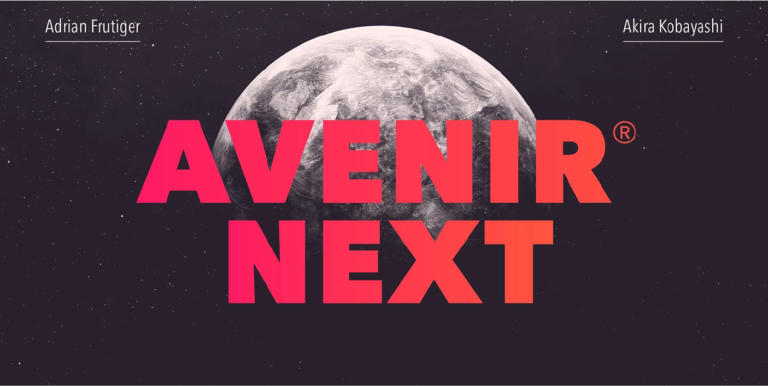 Avenir next fuente bold negrita gratis