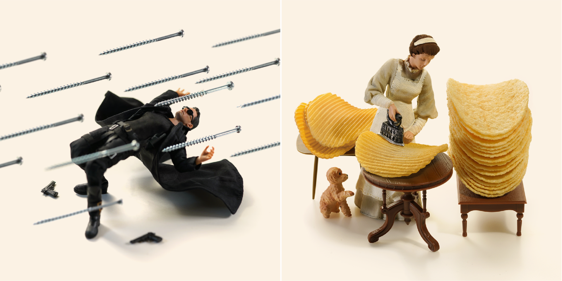miniatura de dioramas creada por el artista Tatsuya Tanaka de miniature calendar